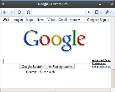 Chrome on Linux
